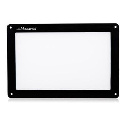 "Maxxima M84411-C Flat Panel Series 4"" X 6"" Interior Light Black Housing"