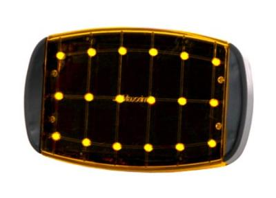 Maxxima SDL-50-A Amber 18 LED Emergency Warning Flasher( Uses 4 AA's )