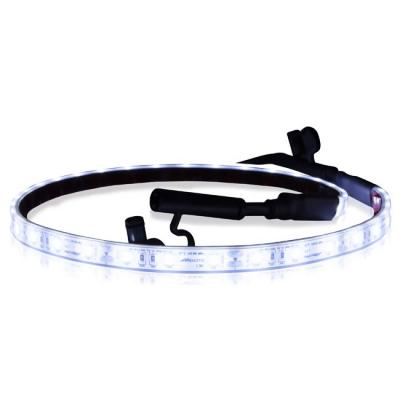 Maxxima MSLS-1827LNK White Silicon Flexible Linkable Adhesive Strip Light 18""