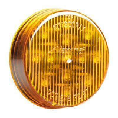 "Maxxima M11300Y 2 1/2"" Amber Clearance Marker Light - Levine Auto and Truck Lighting"