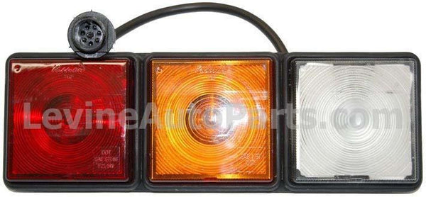 Truck-Lite 8000 Rubbolite LH Module Rear Lamp 24V Assembly