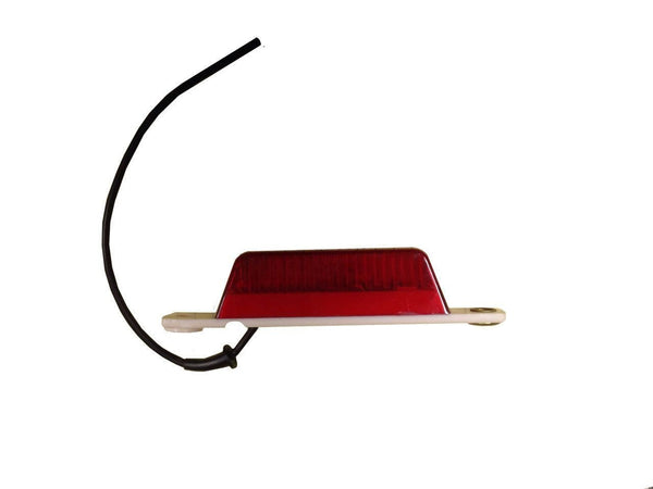 Arrow A052-00-722 Red PC-rated Thinline Sealed Marker Light w/ Pigtail