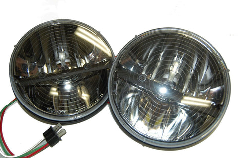 "Truck-Lite 27275C PAIR 7"" Round LED HEATED Headlights (2 Lights), Headlight, Truck-Lite"