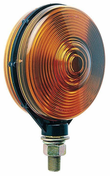 Peterson 313AA Amber/Amber Double-Face, Park & Turn Signal, Pedestal Light