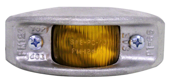 Peterson 123A Amber Cast-Aluminum Clearance & Side Marker Light