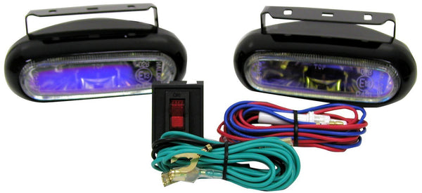 Peterson V582-2 Oval Nightwatcher® LX Slim ION Fog/Docking Light Kit