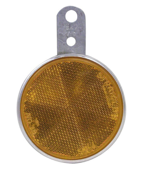 "Peterson B473A Amber 3"" Bracket Mount Reflector"