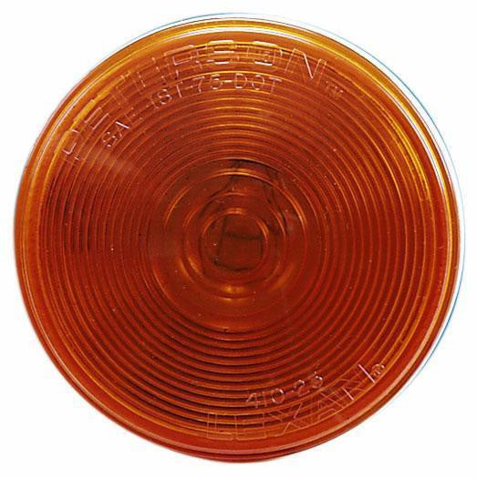 "Peterson M426A Amber 4"" Round Turn Signal Light"
