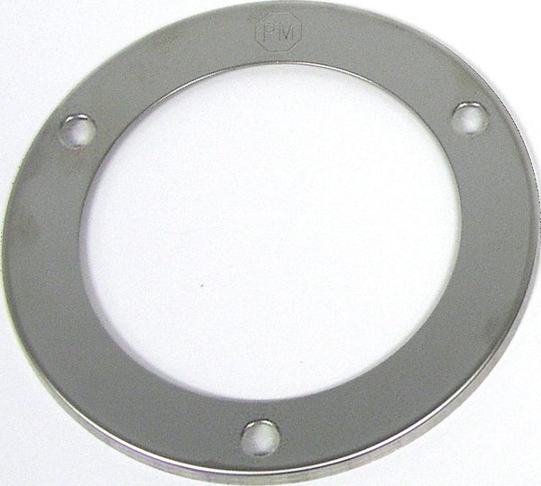 "Peterson 7007S Stainless Steel 2 1/2"" Round Bezel Theft Deterrent Ring"