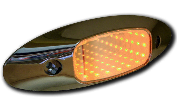 Peterson M179A Amber Piranha® LED 3D Auxiliary Tunnel Accessory Light™