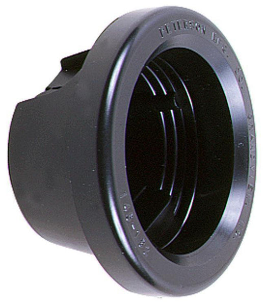 "Peterson B146-182 Black 2"" Round Closed Back Grommet"