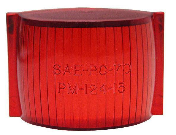 Peterson 124-15R Red Clearance/Side Marker Replacement Lens