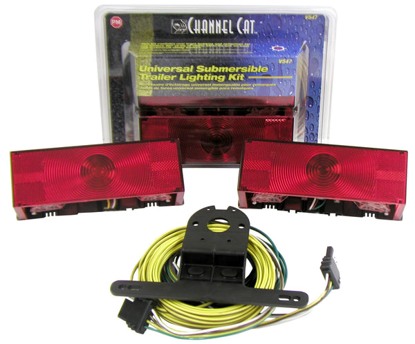 "Peterson V547 Over 80"" Wide Channel Cat™ Submersible Rear Lighting Kit"