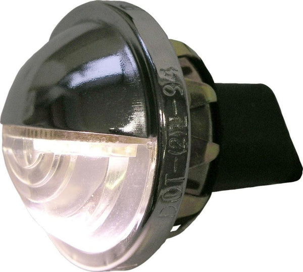 Peterson M298C Chrome Great White® Low-Draw LED License Light