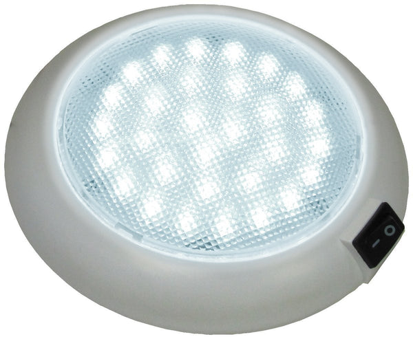 Peterson V379S White Great White® LED Dome/Interior Light w/ Switch
