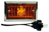 Peterson M126A Amber Rectangular Clearance/Side Marker Light