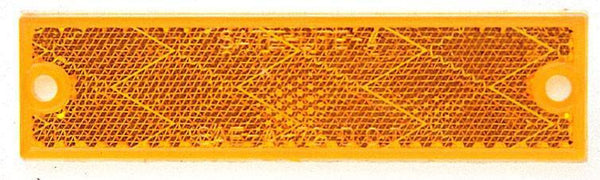 Peterson V487A Amber Compact Rectangular Reflector