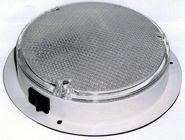Peterson M380S Clear Interior Dome/Utility Light w/ Switch