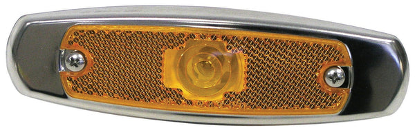 Peterson M137A Amber Clearance/Side Marker Light with Bezel