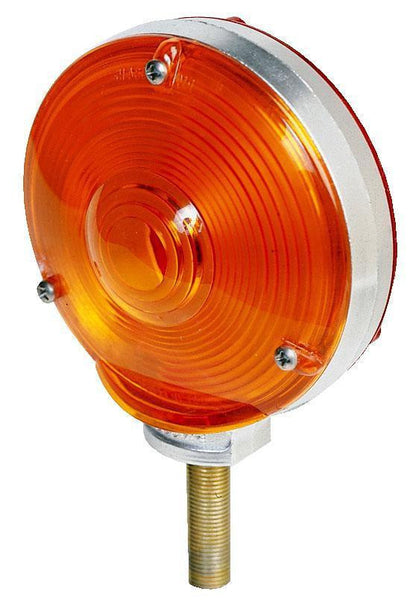 Peterson 337-2 Amber/Red Chrome Die-Cast, Double-Face Combination Park & Turn Signal