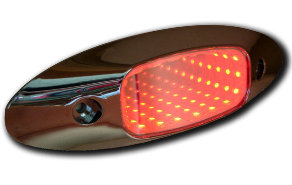 Peterson M179R Red Piranha® LED 3D Auxiliary Tunnel Accessory Light™