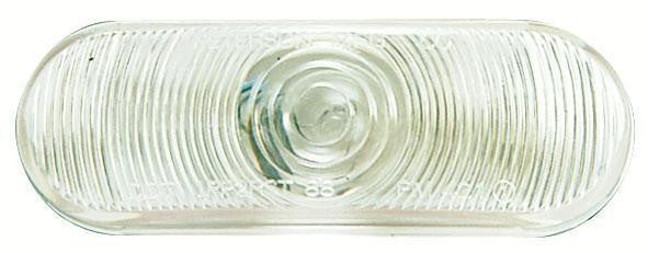 "Peterson 416 Clear Oval Back-Up Light 6.5"" x 2.25"""
