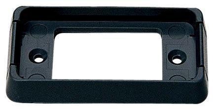 Peterson B150-095 Black Rectangular Surface Mount Bracket