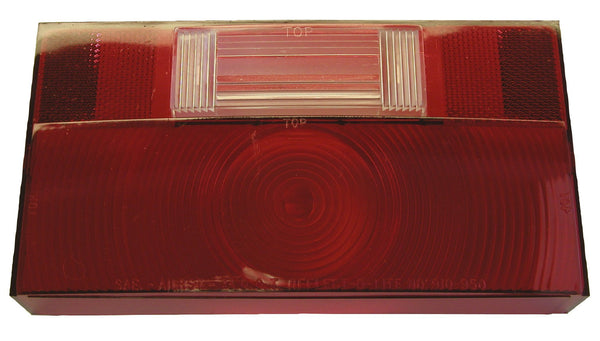 Peterson V25912-25 Red RV Stop, Turn & Tail Light w/Reflex Replacement Lens