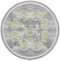 Peterson 872W Round LumenX® LED Touch Light Interior/Dome Light w/Stripped Leads