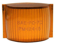 Peterson 124-15A Amber REPLACEMENT LENS