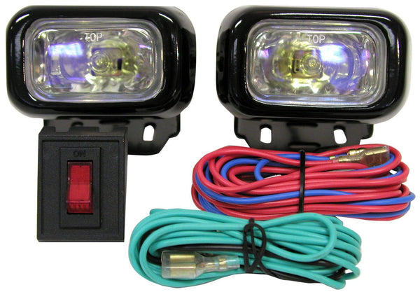 Peterson V586-2 Square Nightwatcher® LX Compact ION Driving Light Kit