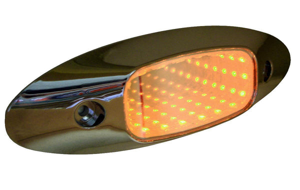 Peterson 179A Piranha® Amber LED  3D Auxiliary Tunnel Light™