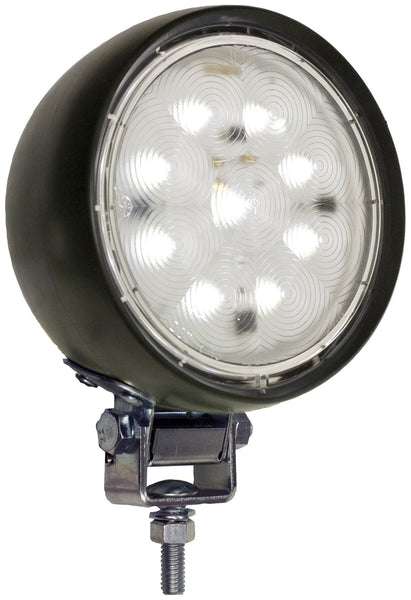 "Peterson V908 4"" Round LumenX® LED Flexible Rubber Housing Work Light"