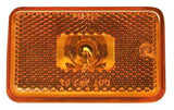 Peterson M127A Amber Rectangular Clearance & Side Marker Light