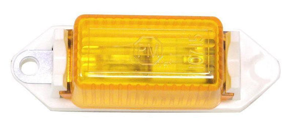 "Peterson 107WA INCANDESCENT Mini-Lite Clearance/Side Marker 3.18""X1.00"" - Levine Auto and Truck Lighting"