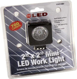 "Peterson V902-MV 2""x2"" Square Great White® LED Mini Work Light"