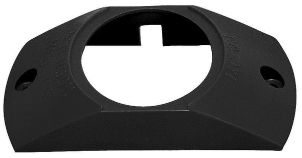 "Peterson B146-093 Black Surface Mount Bracket for 2"" Round Lights"