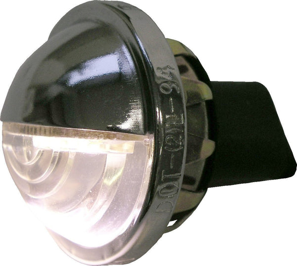 Peterson M298C-BT2 Chrome Great White® Low-Draw LED License Light w/ .180 Bullets