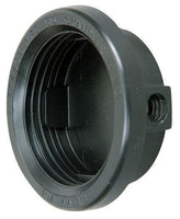 "Peterson B144-18 Black 2 1/2"" Round Closed Back Grommet"