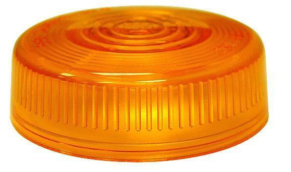 Peterson 102-15A Amber Round Clearance/Side Marker Replacement Lens - Levine Auto and Truck Lighting