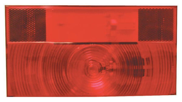 Peterson V25911 Red RV Stop, Turn, & Tail Light w/Reflex