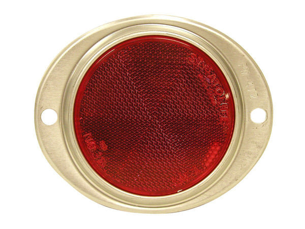 Peterson V472R Red Oval Aluminum Reflector