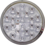 "Peterson 1217A-R-SW LED STOP /TURN /TAIL LIGHT ROUND ECE GROMMET MOUNT 12"" LDS 4"" MULTI-VOLTAGE - Levine Auto and Truck Lighting"