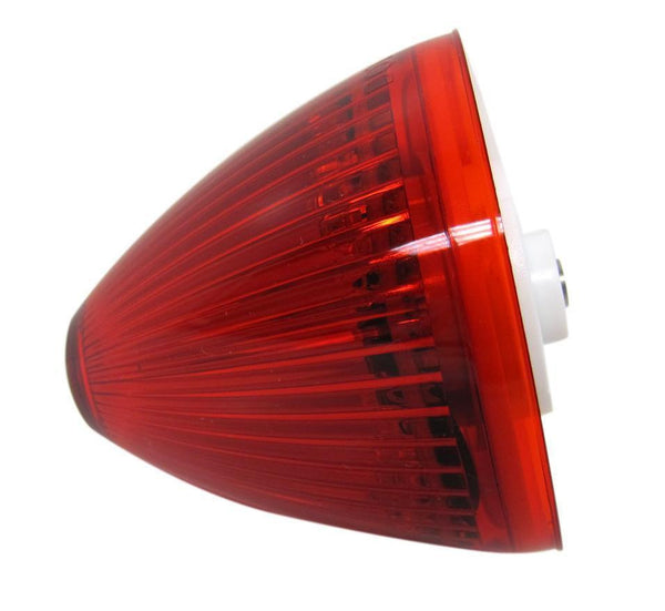 "Peterson M166R Red 2"" Piranha® LED Beehive Clearance/Side Marker Light"