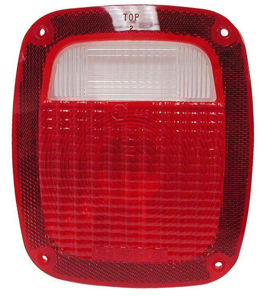 Peterson 445-25 Red Combination Tail Light Replacement Lens