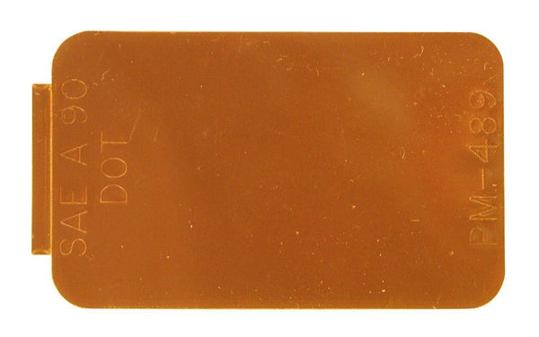 Peterson B489A Amber Rectangular Spitfire™ Reflectors
