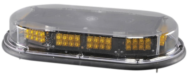Peterson 752A Amber Piranha® LED Low Profile Strobing Mini-Bar, Permanent Mount