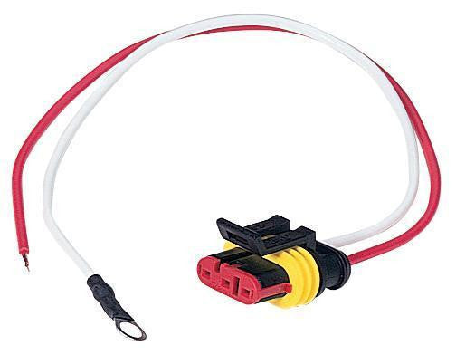 "Peterson B417-48 LED 2-Wire Plug w/ 8"" Leads"
