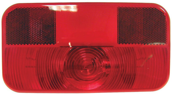Peterson V25921 Red RV Stop, Turn, & Tail Light w/Reflex