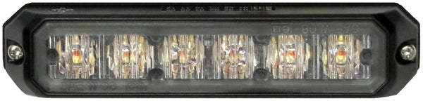 Peterson 4153SA Amber Piranha® LED Compact Programmable Strobe, Surface Mount